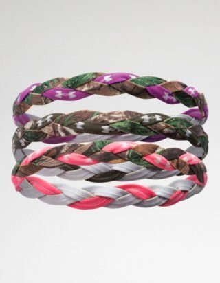 Outdoor braided headband Women's Camo,  Camouflage Clothing & Gear - Under Armour