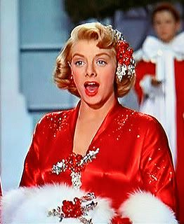 Have a Rosemary Clooney Christmas! Link to a nice site with a clip of her singing The Christmas Song.