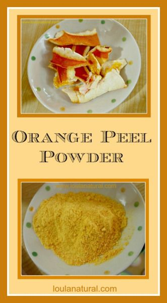 Orange Peel Powder. A natural vitamin C powder which is anti-inflammatory, anti-cancer, bacterial feeding and balancing and tastes great in so many recipes. Come and check out what you can do with something you would normally throw away!Dramaticpainrelief