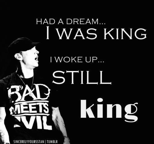 King of Rap #Eminem |||| Slim Shady  |||| #Stan  |||| Marshall Bruce Mathers