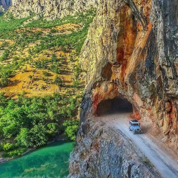 Karanlık kanyon Kemaliyle Erzincan Türkiye Foto:Muhammed Kösen