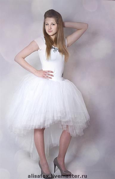 Свадебная юбка пачка