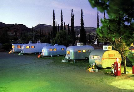 shady dell air stream trailer motel!!! Bisbee AZ.