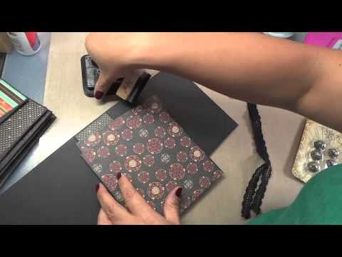 Bird Song Mini Book Tutorial by Arlene! #graphic45 #videos