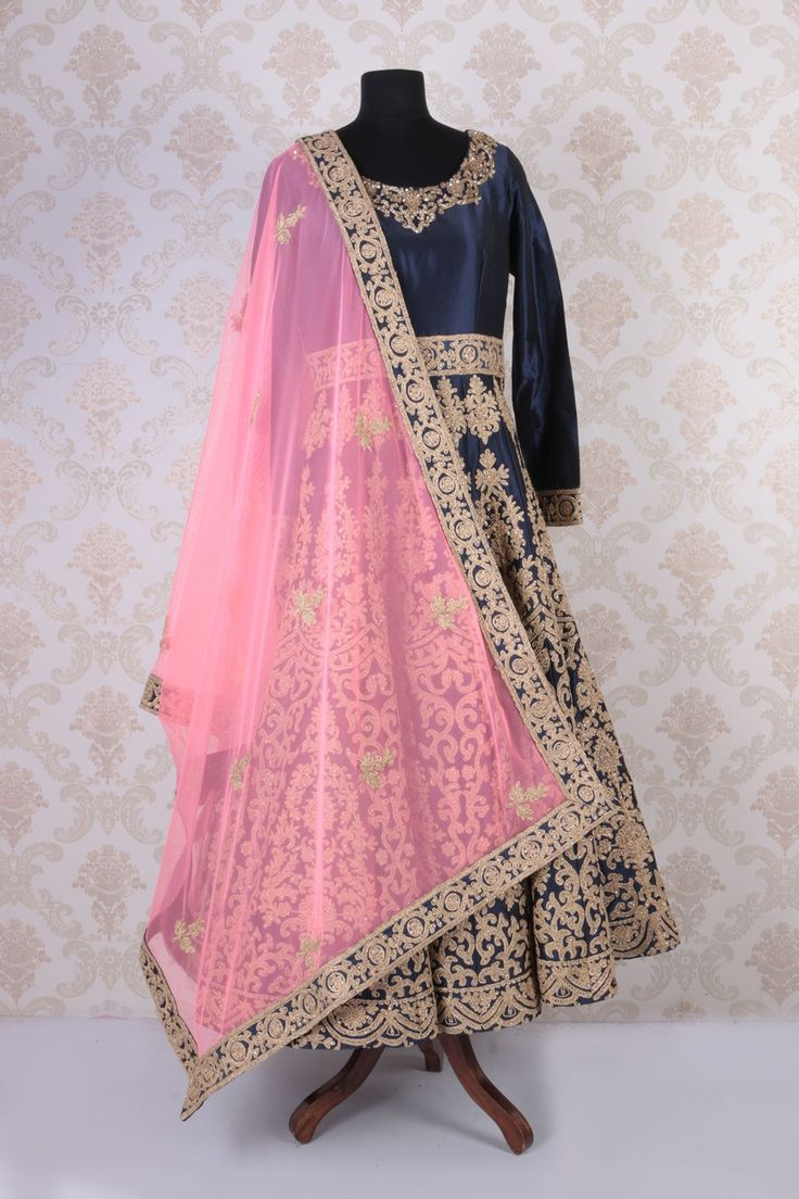 anarkali kurtis, bollywood sari, ethnic kurtis @ http://ladyindia.com