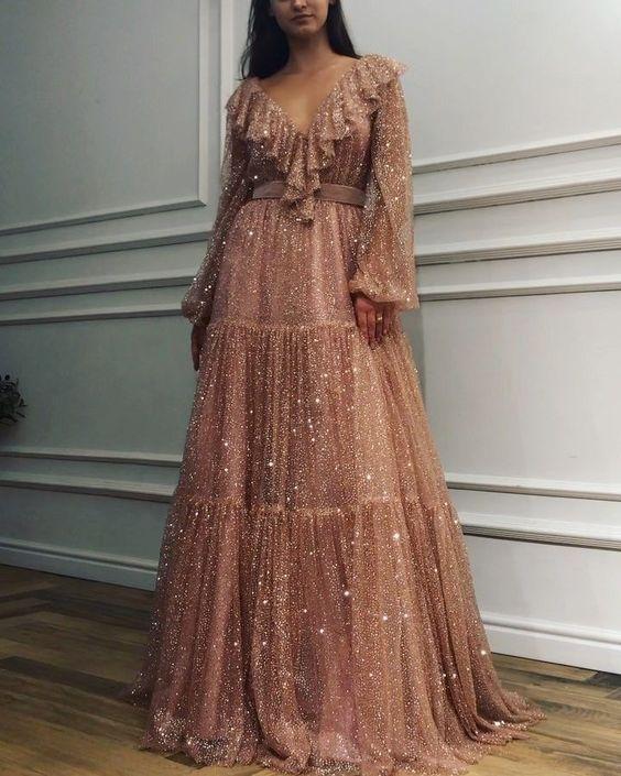 Elegant Formal Bohemian Dress