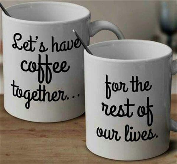 Dating-Website Kaffee und Bagel