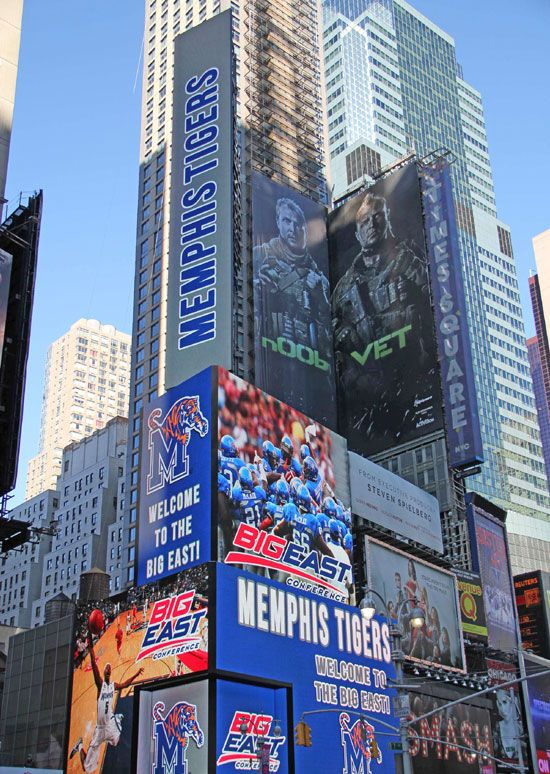 Memphis Tigers headed to the Big East- from the Commercial Appeal: Time Squares, Bleeding Tigers, East Conference, Big East, New York Time, Memphis Basketb, Big Deals, Memphis Tigers, Acknowledg Memphis