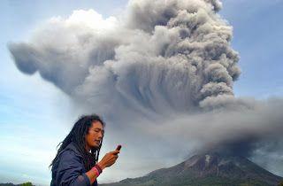 Disso Voce Sabia?: Sobe Para 10 o Número de Vulcões Ativos No Mundo