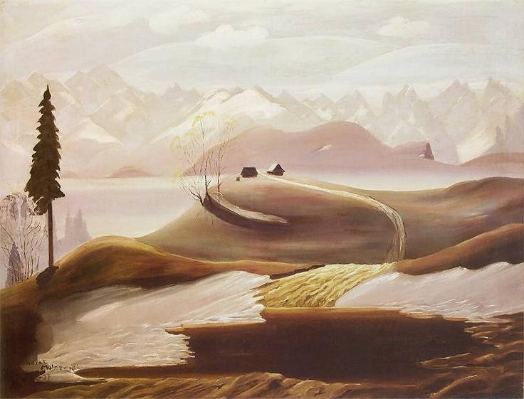 It's About Time: Amazing Portraits and Landscapes by Polish Artist Rafal Malczewski 1892-1965