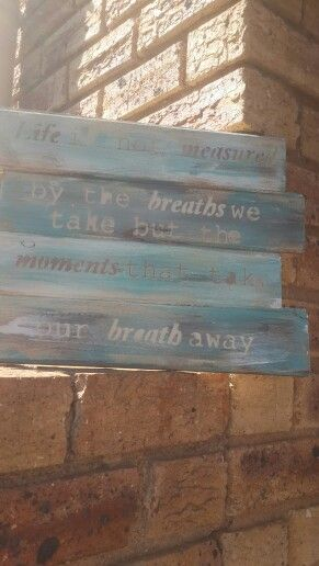 wooden sayings