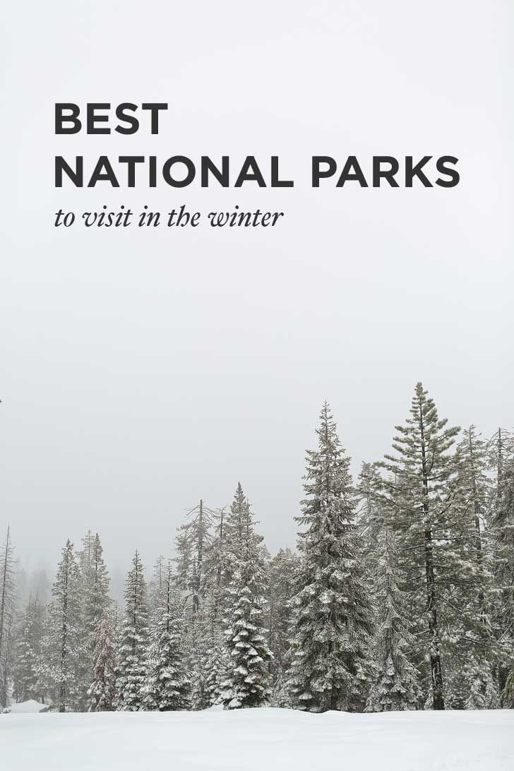 15 Best National Parks to Visit in Winter - Some to Avoid the Cold, Some for a Different Perspective of the Park, and Some for a Winter Wonderland // localadventurer.com