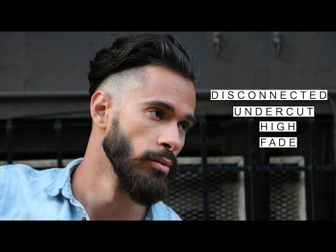GQ Inspired Disconnected Undercut /w High Fade | Medium Length Hairstyles | Summer Hairstyles 2016 - YouTube
