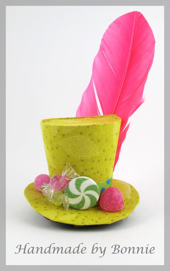 Mini Top Hat / Candy covered tiny top hat