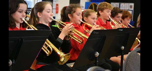 Torrens Primary School music students
