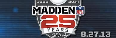 http://maddenrevealed.com/madden-set-to-celebrate-25-years/   The release date of the game has been confirmed by EA as 27th of August. The game is called Madden 25 as it commemorates the twenty five years of innovation that Madden has managed to enact.