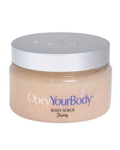 Obey Your Body Original Dead Sea Exfoliating Body Salt Scrub Purity Fragrance 300ml - http://best-anti-aging-products.co.uk/product/obey-your-body-original-dead-sea-exfoliating-body-salt-scrub-purity-fragrance-300ml/