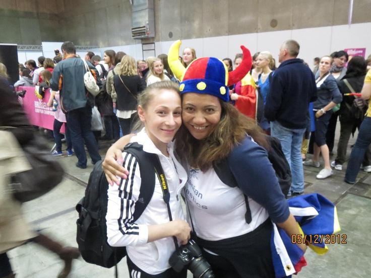 "Diana Chelaru and a ""crazy"" fan"