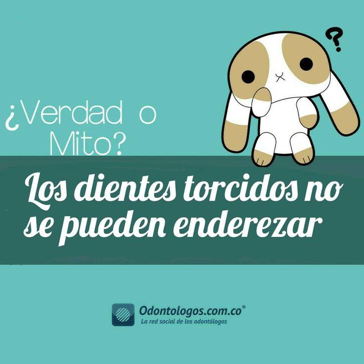 #VerdadOMito #OdontólogosCol #Odontólogos