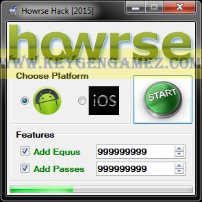 Are you looking for Howrse Hack? If the answer is YES, you've got on the right website page. Once you will read this entire interesting article, you will find out in short time how to add as many Equus and Passes you want with Howrse Hack Tool to upgrade this amazing video game.