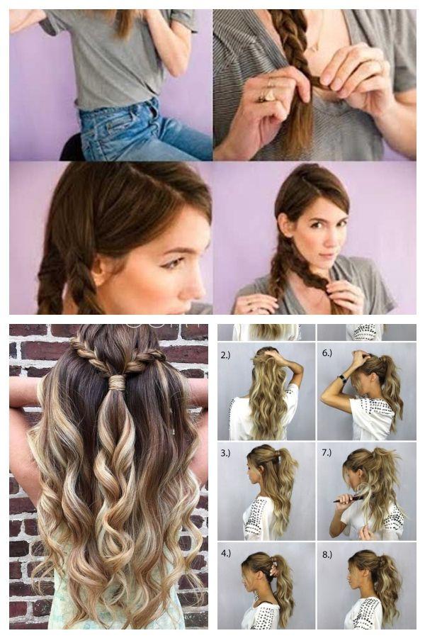 5 Minuten Frisuren Fur Kurze Haare Genel Hair Styles Beauty Dreadlocks