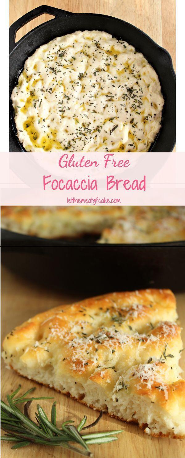 Gluten Free Focaccia Bread Recipe Foods With Gluten Gluten Free Cooking Gluten Free