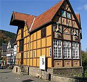 Das Bild zeigt die Tabakfabrik. Hagener Freilichtmuseum des Landschaftsverbandes Westfalen-Lippe (LWL) zu beschreiben. Einmalig in seiner Art ist es auf jeden Fall.