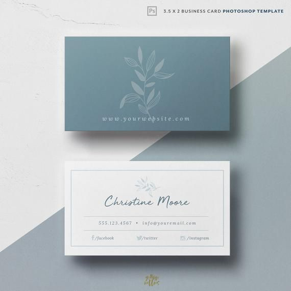 Corjl Business Card Template Leaves Business Card Elegant Card Luxe Card Template Editable Business Card Diy Printable Card Business Card Design Simple Business Card Photoshop Business Cards Elegant