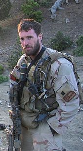 LT Michael Murphy, Medal of Honor, silver star, purple heart~ the first member of the U.S. Navy to receive the award since the Vietnam War.  He was killed June 28, 2005 after exposing himself to enemy fire and knowingly leaving his position of cover to get a clear signal in order to communicate with his headquarters. He provided his unit's location and requested immediate support for his element and then returned to his position to continue fighting until he died from his wounds.
