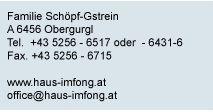 ~ Ferienwohnung Imfong in Obergurgl ~ Reinhard's Guest House
