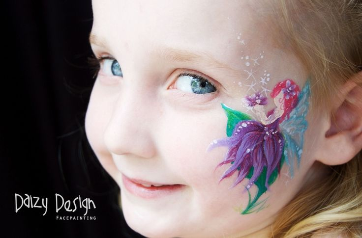 Fairy Faces - Daizy Design | face painting inspiration ...