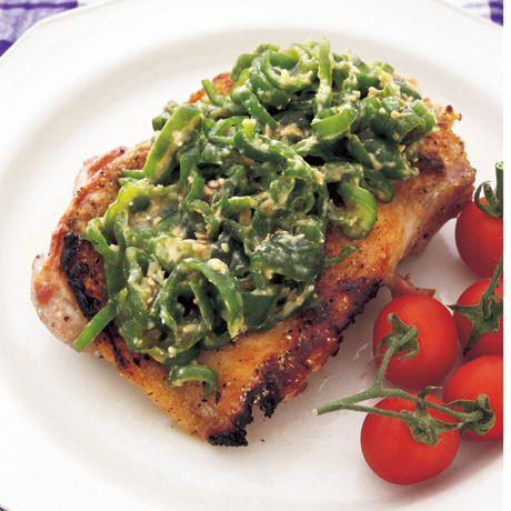 ピーマンとししとうのみそ漬け   野口真紀さんのおつまみの料理レシピ   プロの簡単料理レシピはレタスクラブニュース