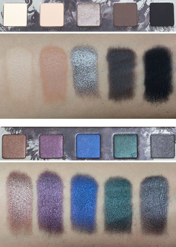Urban Decay Smoked Palette Review, Swatches