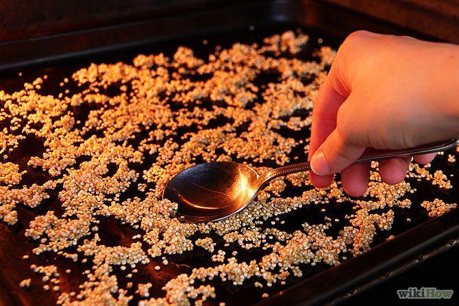 Cómo preparar quinua inflada