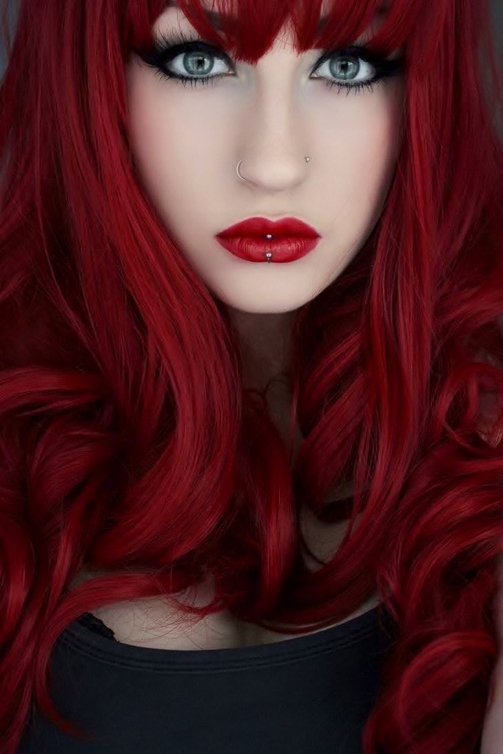 1000 Ideas About Bright Red Hair On Pinterest Red Hair
