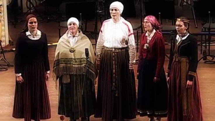 "Latgaliešu tautasdziesma SAUCĒJAS ""Tolka lela"" Latgalian Folk Song"