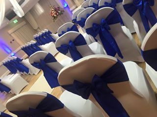 Blue wedding sash #lytham #wedding #glendower #lythamevents #lythamwedding #blue #bluewedding @www.thelythamweddingcompany.co.uk