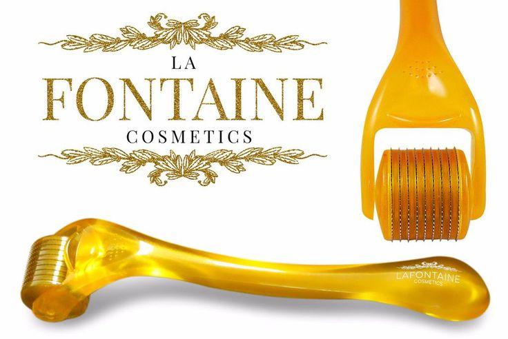 DermaDream 0.5 mm Derma Roller - 540 Titanium Needles - La Fontaine Cosmetics  - 1