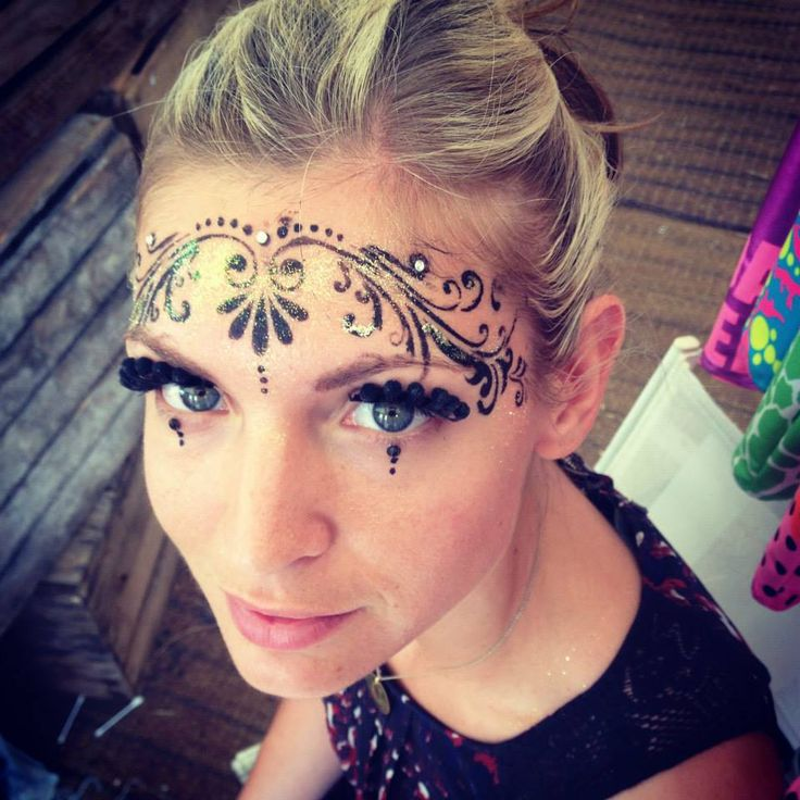 1123 Best Face Painting Fantasy And Nature Images On