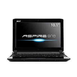 Acer AO532h-2964 10.1-Inch Matrix Silver Netbook - Up to 10 Hours of Battery Life (Personal Computers)