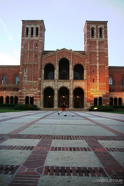 Not Italy... UCLA - University of California at Los Angeles
