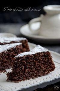 torta al latte caldo e cacao Light perfect