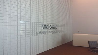 eWall at the UN is the World's Largest ePaper Sign, with 231 E Ink tiles.