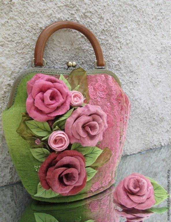 """Женские сумки ручной работы. Ярмарка Мастеров - ручная работа Сумка """"La Fleur"""". Handmade."""