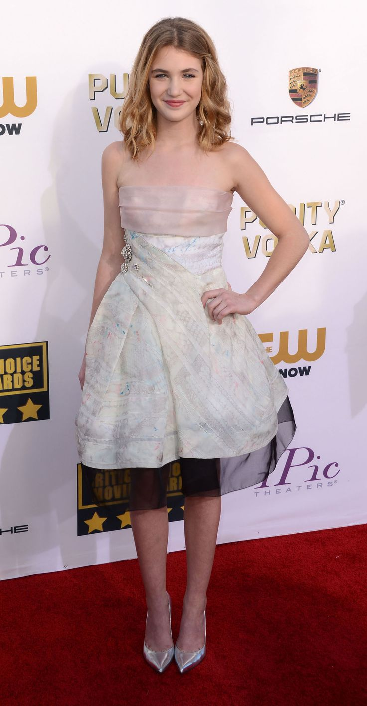 Sophie Nelisse Wearing Jmendel Resort 2014 Critics