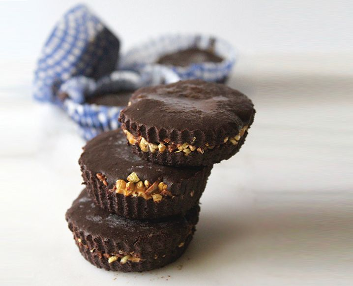 This version of almond and peanut butter cups changes everything. Find out why we're flipping out over this raw chocolate cup recipe from age-defying raw foodie, Mimi Kirk...