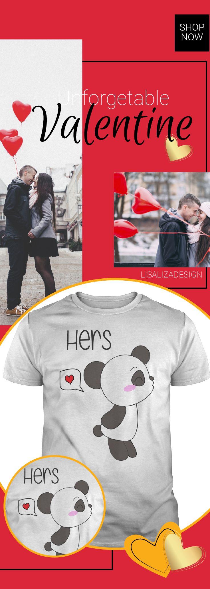 Couple her PANDA Valentine Animal Dad Mom Lady Man Woman Men Women Girl Boy.  Sunfrog Women/ Men  T Shirt / Hoodies  Love is in the air . Be My Valentine.  Shop for Darling Valentine TShirt from here.  #valentine  #valentinegift #lover #couple   #inlove #forhim #forher #valentineday #romantic  #sunfrog #lisaliza #giftideas #present #ideas #february   #love #boyfriend #girlfriend #valentineideas