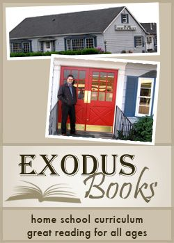 Exodus Books is a bookstore near Portland Oregon that offers homeschool curriculum, Christian Reformed books, used books and much more.