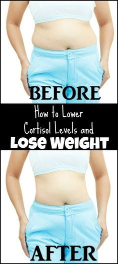 How to Lower Cortisol (anxiety gives you high level of cortisol) Levels and Lose Weight