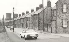 A street in Consett - similar to one where my father was born